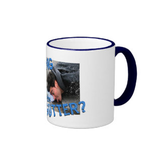 """""""Are You Drinking in the Gutter?"""" Coffee Mugs"""