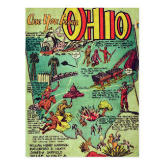 Are You From Ohio Postcard