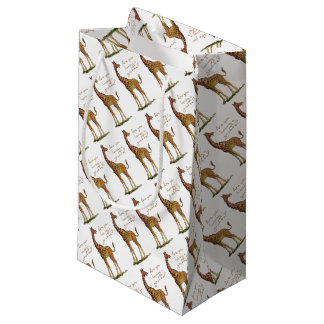 Are You Having a Giraffe? Small Gift Bag