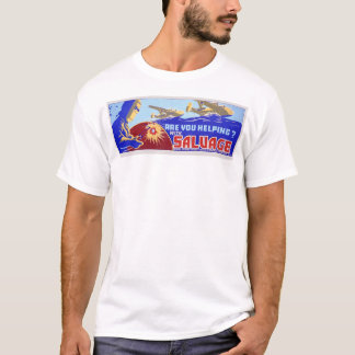 Are you helping?  Salvage - WPA T-Shirt