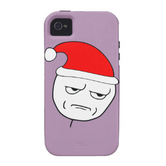 are you kidding me xmas meme Case-Mate iPhone 4 cases