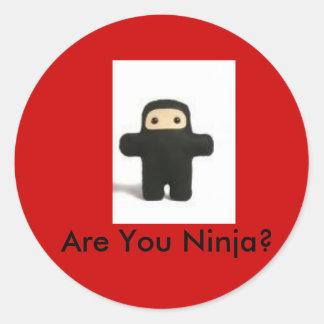 Are You Ninja sticker