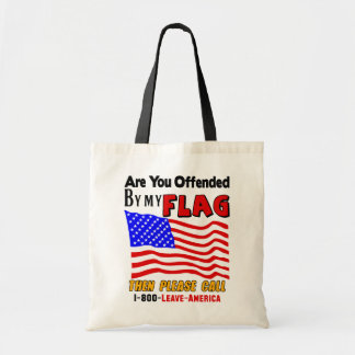 Are You Offended Canvas Bag