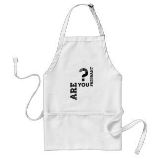 Are You Pregnant? Adult Apron