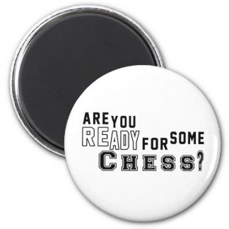 Are you ready for some Chess Magnets