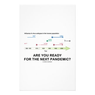 Are You Ready For The Next Pandemic? Custom Stationery