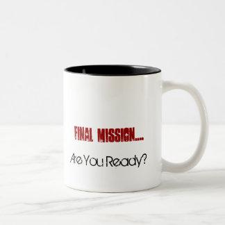 Are You Ready? Two-Tone Mug
