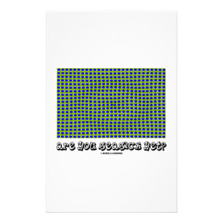 Are You Seasick Yet? (Motion Illusion) Personalized Stationery