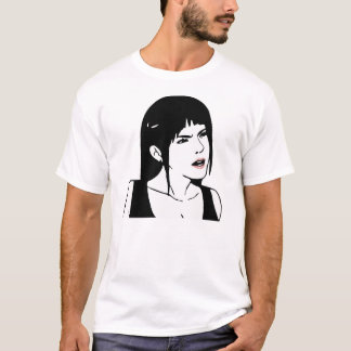 Are You Serious Face (Female) T-Shirt