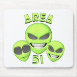 Area 51 Aliens Mouse Pad