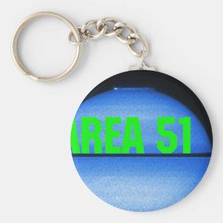 area 51 basic round button key ring