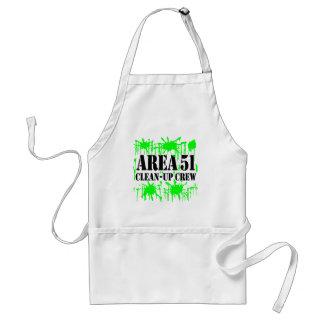 Area 51 Clean-Up Crew Standard Apron