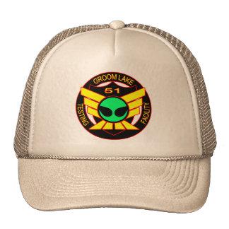 Area 51 Green Alien Hat