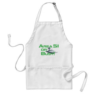 Area 51 or Bust Aprons