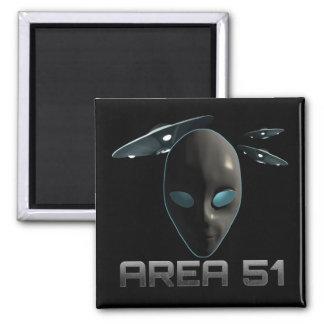 Area 51 square magnet