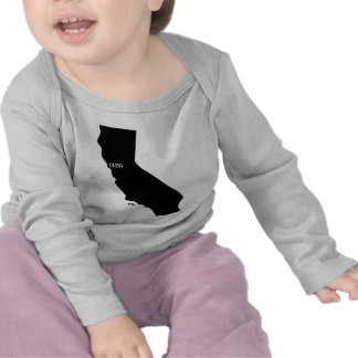 Area Code 415 California Bay Area T Shirt