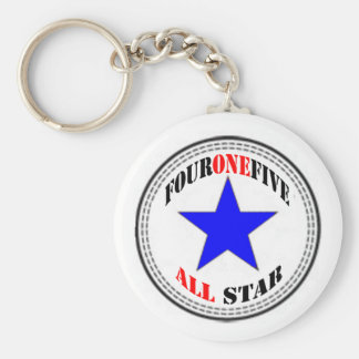 Area Code All Star - 415 San Francisco (new design Basic Round Button Key Ring