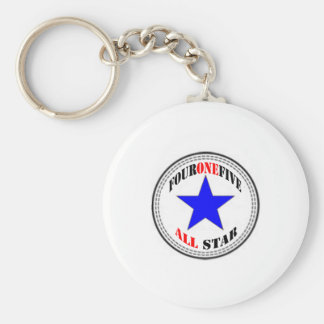 Area Code All Star - 415 San Francisco (new design Keychain