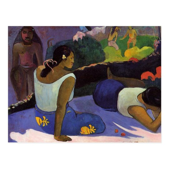 'Arearea no Varua Ino' - Paul Gauguin Postcard