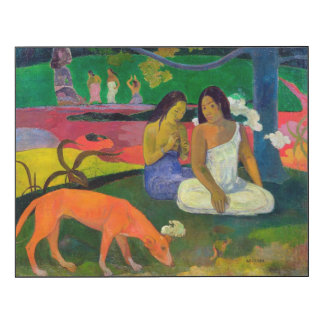 Arearea (The Red Dog), 1892