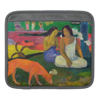 Arearea (The Red Dog), 1892 iPad Sleeve