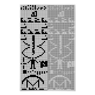 Arecibo_Message Poster