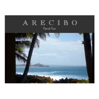 Arecibo, Puerto Rico Postcard