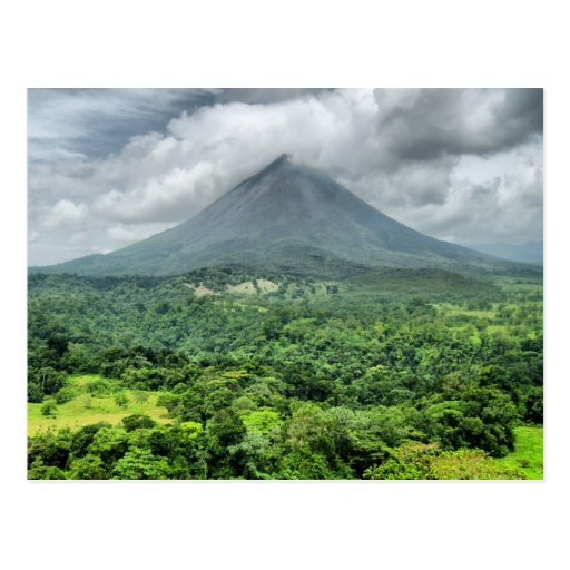 Arenal Volcano - Costa Rica Postcards