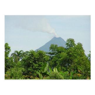 Arenal Volcano, Costa Rica. Postcard
