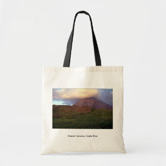Arenal volcano, Costa Rica Tote Bag
