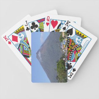 Arenal Volcano Costa Rica Travel Tourism Bicycle Playing Cards