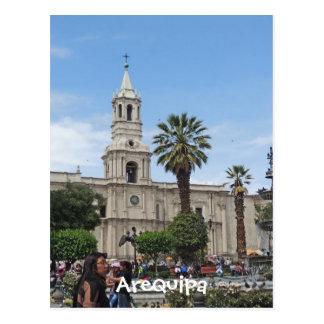 Arequipa - Plaza de Armas Postcard