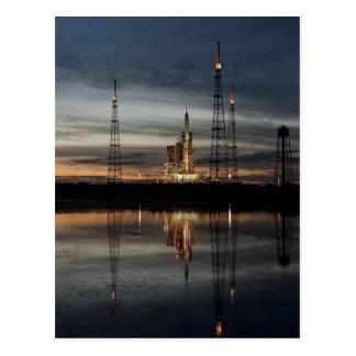 Ares I-X rocket Postcard