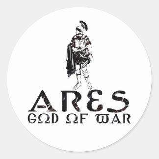 Ares Round Sticker