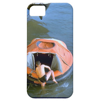 Arethusa Life raft training Barely There iPhone 5 Case