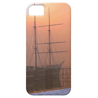 Arethusa sunset and snow barely there iPhone 5 case
