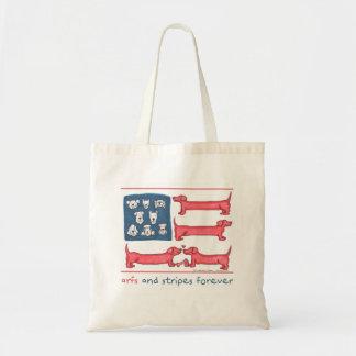 Arfs & Stripes Forever Tote Bag (various styles)