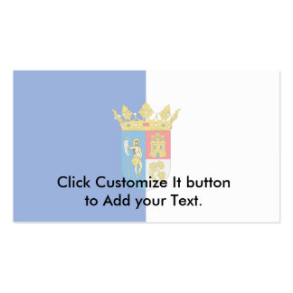 Arganda Del Rey, Spain flag Business Card Template