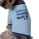 Argenitna world cup t-shirt dog tee