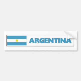 Argentia Flag Bumper Sticker