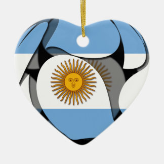Argentina #1 christmas ornament