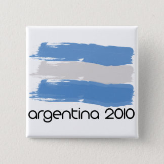 Argentina 2010 15 cm square badge