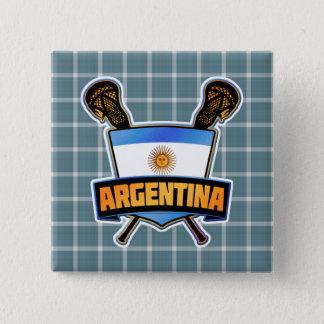 Argentina Argentine Lacrosse Badge