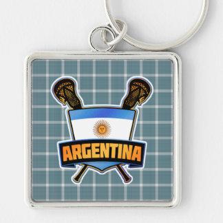 Argentina Argentine Lacrosse Keyring