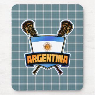 Argentina Argentine Lacrosse Mousemat