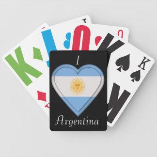 Argentina Argentinian Flag Poker Deck