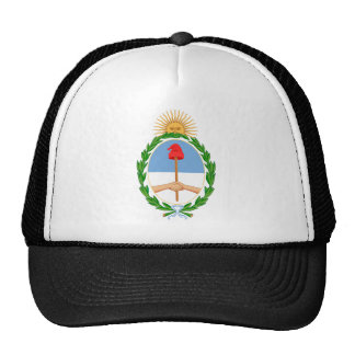 argentina arms trucker hat