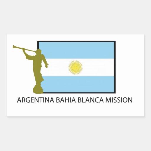 Argentina Bahia Blanca Mission Sticker