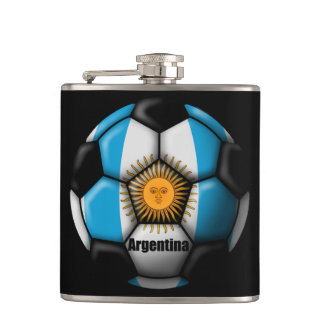 Argentina Ball Hip Flask