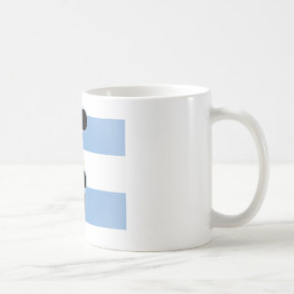 Argentina Bicycle Kick Basic White Mug